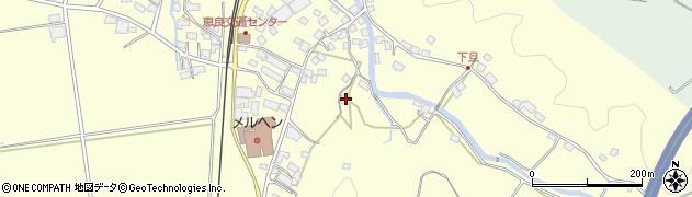 大分県玖珠郡九重町右田3186周辺の地図