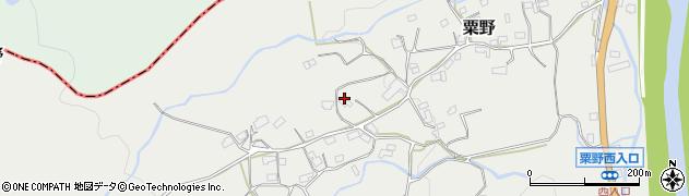 大分県玖珠郡九重町粟野1465周辺の地図