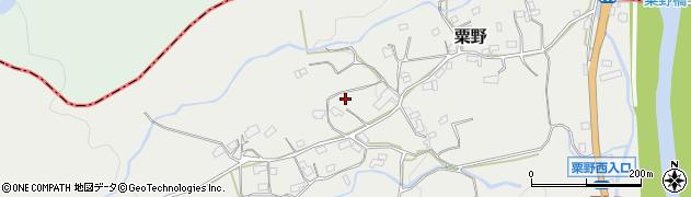 大分県玖珠郡九重町粟野1470周辺の地図