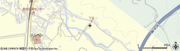 大分県玖珠郡九重町右田3427周辺の地図