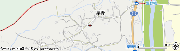 大分県玖珠郡九重町粟野1423周辺の地図