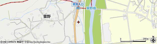 大分県玖珠郡九重町粟野1259周辺の地図