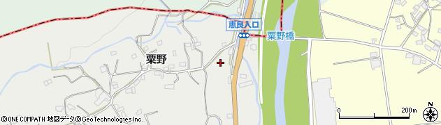 大分県玖珠郡九重町粟野1282周辺の地図