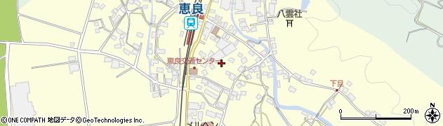大分県玖珠郡九重町右田下旦周辺の地図
