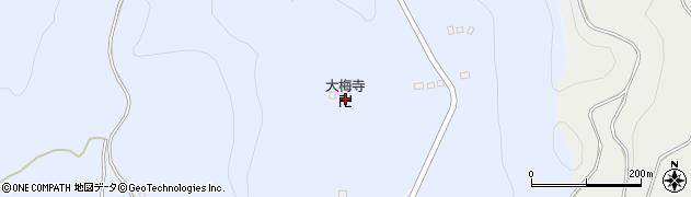 大梅寺周辺の地図