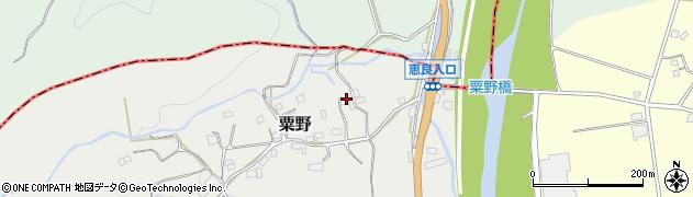 大分県玖珠郡九重町粟野1312周辺の地図