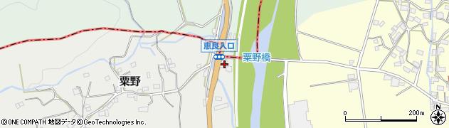 大分県玖珠郡九重町粟野1265周辺の地図