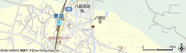 大分県玖珠郡九重町右田3349周辺の地図