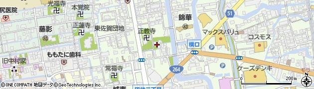 長専寺周辺の地図