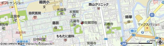 佐賀県佐賀市東佐賀町周辺の地図