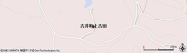 長崎県佐世保市吉井町上吉田周辺の地図