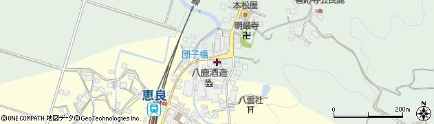 大分県玖珠郡九重町恵良584周辺の地図