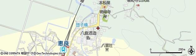 大分県玖珠郡九重町恵良586周辺の地図