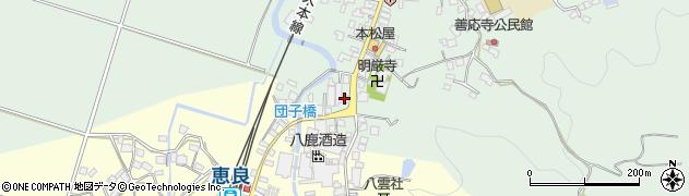 大分県玖珠郡九重町恵良578周辺の地図