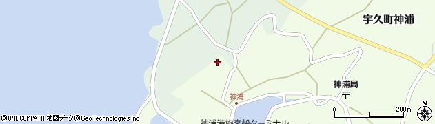 西蓮寺周辺の地図