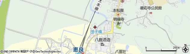 大分県玖珠郡九重町恵良5周辺の地図