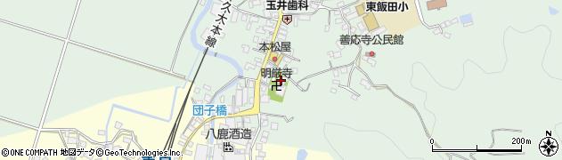 大分県玖珠郡九重町恵良597周辺の地図