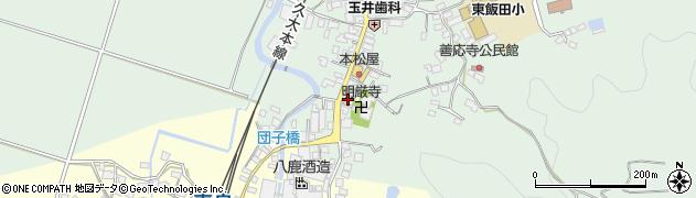 大分県玖珠郡九重町恵良595周辺の地図