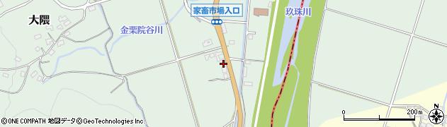 大分県玖珠郡玖珠町大隈1502周辺の地図