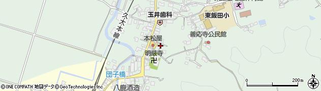 大分県玖珠郡九重町恵良526周辺の地図