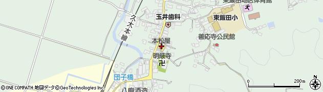 大分県玖珠郡九重町恵良周辺の地図