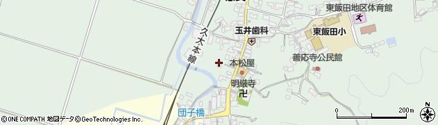 大分県玖珠郡九重町恵良570周辺の地図