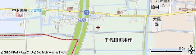 佐賀県神埼市千代田町用作周辺の地図