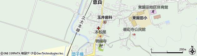 大分県玖珠郡九重町恵良545周辺の地図