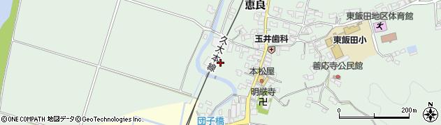 大分県玖珠郡九重町恵良565周辺の地図