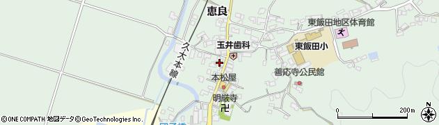 大分県玖珠郡九重町恵良544周辺の地図