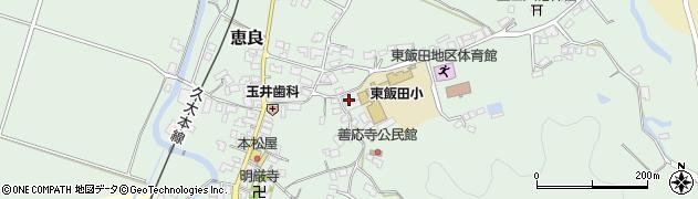 大分県玖珠郡九重町恵良933周辺の地図