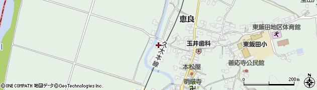 大分県玖珠郡九重町恵良560周辺の地図