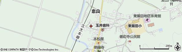 大分県玖珠郡九重町恵良409周辺の地図
