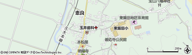 大分県玖珠郡九重町恵良420周辺の地図