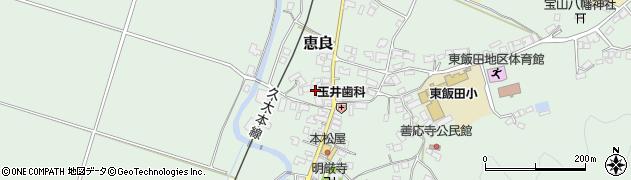 大分県玖珠郡九重町恵良415周辺の地図