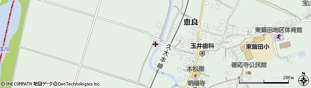 大分県玖珠郡九重町恵良26周辺の地図