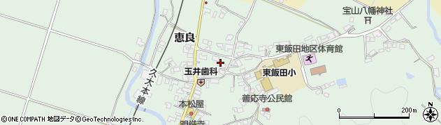 大分県玖珠郡九重町恵良421周辺の地図