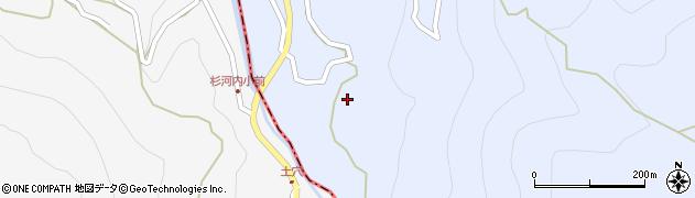 大分県玖珠郡玖珠町山浦杉河内周辺の地図
