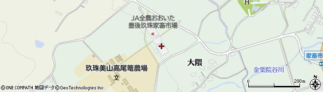 大分県玖珠郡玖珠町大隈1720周辺の地図