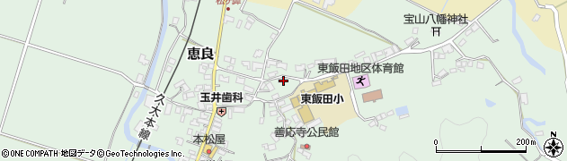 大分県玖珠郡九重町恵良487周辺の地図