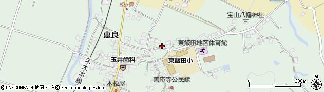 大分県玖珠郡九重町恵良482周辺の地図