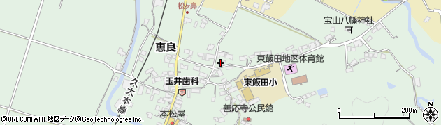 大分県玖珠郡九重町恵良491周辺の地図