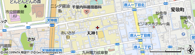 聖衆院周辺の地図