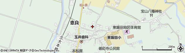 大分県玖珠郡九重町恵良433周辺の地図