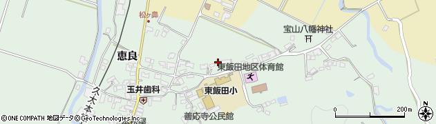 大分県玖珠郡九重町恵良479周辺の地図