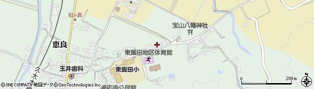 大分県玖珠郡九重町恵良467周辺の地図