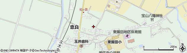 大分県玖珠郡九重町恵良434周辺の地図