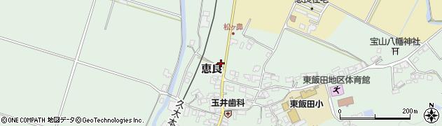大分県玖珠郡九重町恵良436周辺の地図