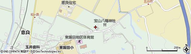 大分県玖珠郡九重町恵良463周辺の地図