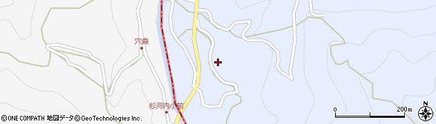 大分県玖珠郡玖珠町山浦806周辺の地図